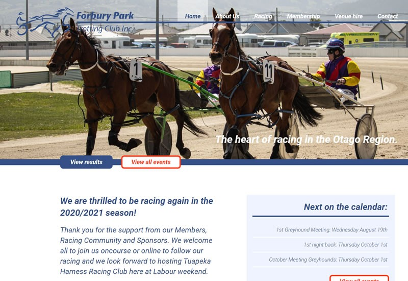 Forbury Park Trotting Club